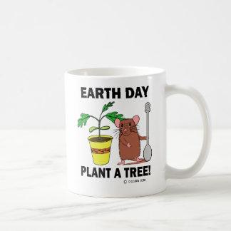 Plant A Tree Earth Day! Coffee Mug
