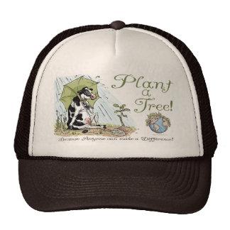 Plant a Tree Earth Day Cow Gear Trucker Hat