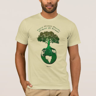 PLANT A TREE Ecology Art Design T-Shirt