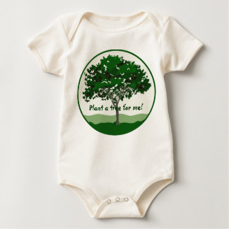 Plant a tree for me! Infant Baby Bodysuit