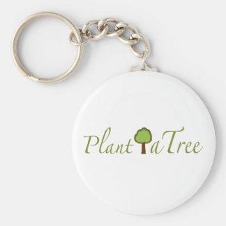 Plant A Tree Keychain