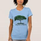 Plant a Tree Ladies Petite T-shirt