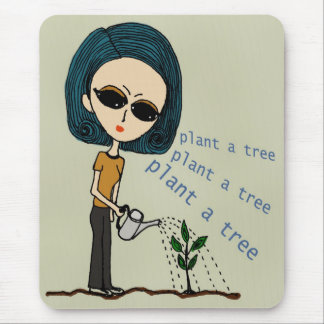Plant a Tree Mouse Pad