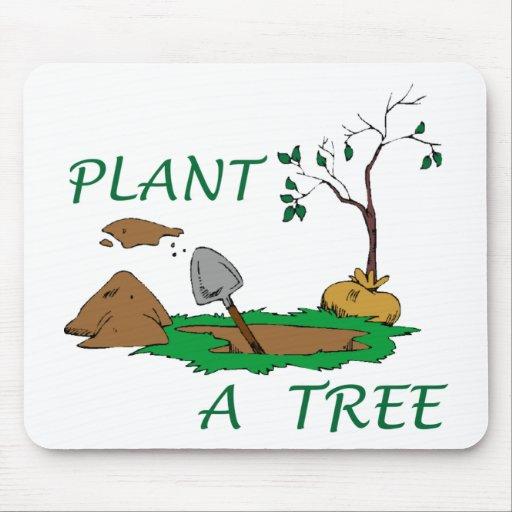 Plant a Tree Mouse Pad