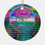 Plant a Tree of Life in Your Heart Ornaments