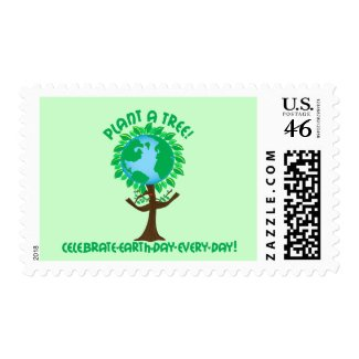 Plant a Tree stamp