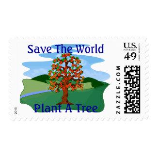 Plant A Tree Postage