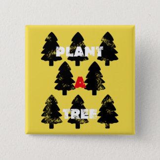 Plant A Tree Square Button