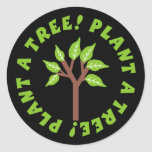 Plant a Tree Stickers