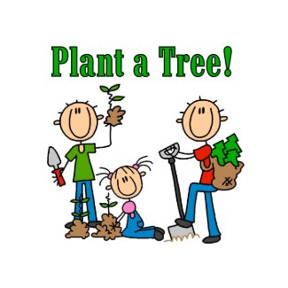 Plant a Tree T-shirts and Gifts card