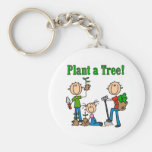 Plant a Tree T-shirts and Gifts Key Chains