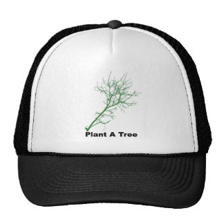 plant a tree trucker hat