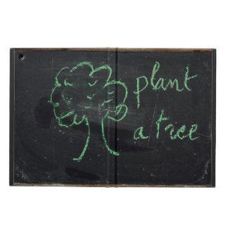 Plant a tree - Vintage Chalkboard - Ipad air Case