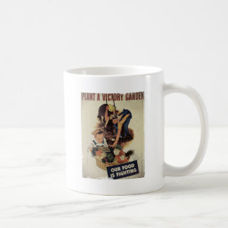Plant a Victory Garden Classic White Coffee Mug