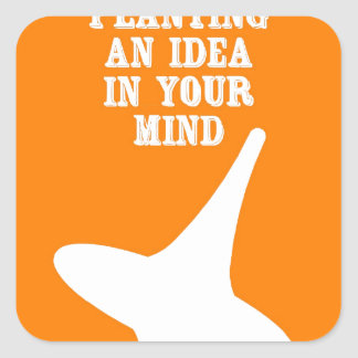 Plant An Idea In Your Mind Stickers