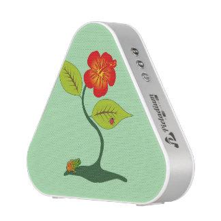 Plant and flower bluetooth speaker