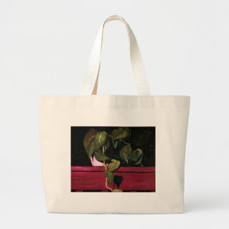 Plant at Night Canvas Bags