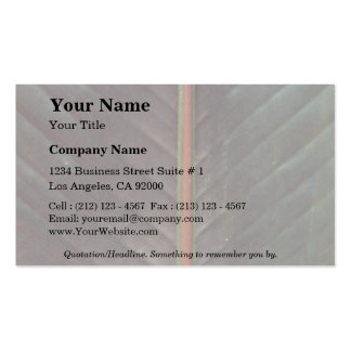 Plant Banana Down Double-Sided Standard Business Cards (Pack Of 100)