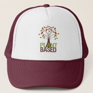 Plant Based Fall Tree Trucker Hat