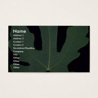 Plant Big Fig Business Card