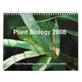 Plant Biology 2008 Calendars