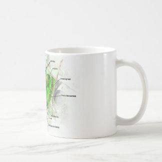 plant cell classic white coffee mug
