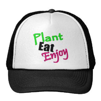 Plant Eat Enjoy Hat