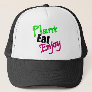 Plant Eat Enjoy Trucker Hat