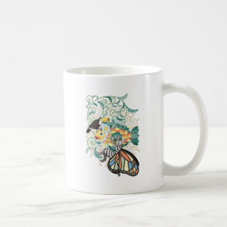 Plant fish and Butterfly cat and Toco toucan Coffee Mug