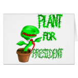 Plant For President Greeting Card