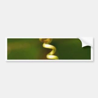 plant  form bumper sticker