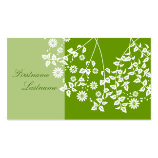 Plant handle card visiting card Double-Sided standard business cards (Pack of 100)