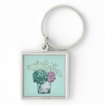 Plant Happiness Collection | Succulents Keychain