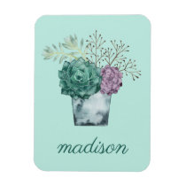 Plant Happiness Collection | Succulents Magnet
