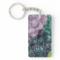 Plant Happiness | Grow Harvest Love Keychain