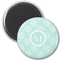 Plant Happiness | Pastel Succulent Pattern Magnet