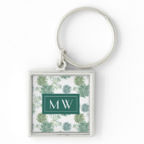 Plant Happiness | Succulent Pattern Keychain