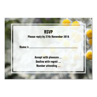 "Plant. 3.5"" X 5"" Invitation Card"