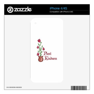 Plant Kindness Skins For The iPhone 4S