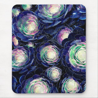 Plant Life At Night Mouse Pad