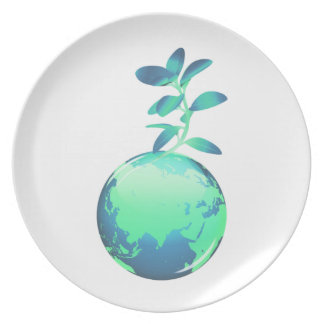 Plant Life Plate