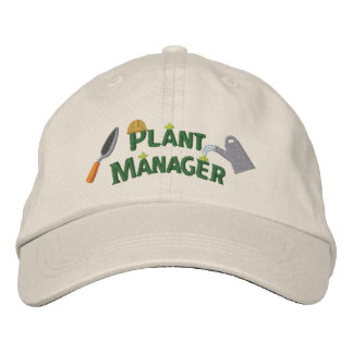 Plant Manager 2 Embroidered Baseball Cap