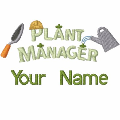 Plant Manager 2 Embroidered Polo Shirts