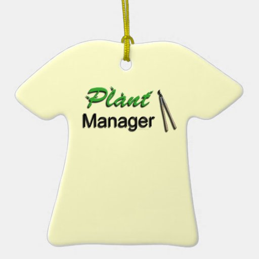Plant Manager Garden Christmas Tree Ornaments