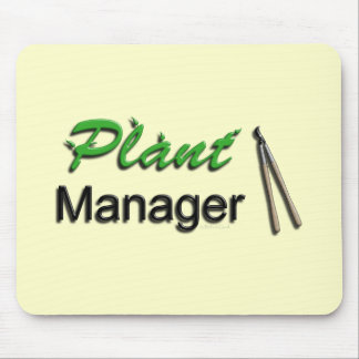 Plant Manager Garden Mouse Pad