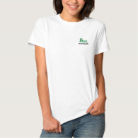 Plant Manager Gardener Embroidered Womens Polo