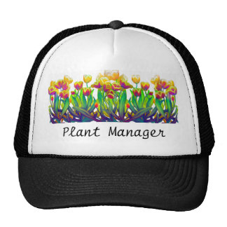 Plant Manager Tulips Hat