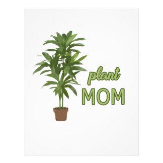 Plant mom letterhead