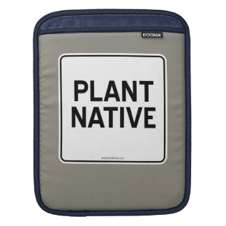 PLANT NATIVE SLEEVE FOR iPads