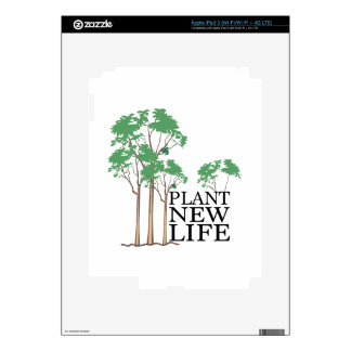 Plant New Life Skins For iPad 3